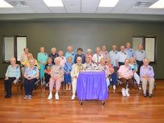 Thirty celebrate their 90-plus birthdays at Holt senior center