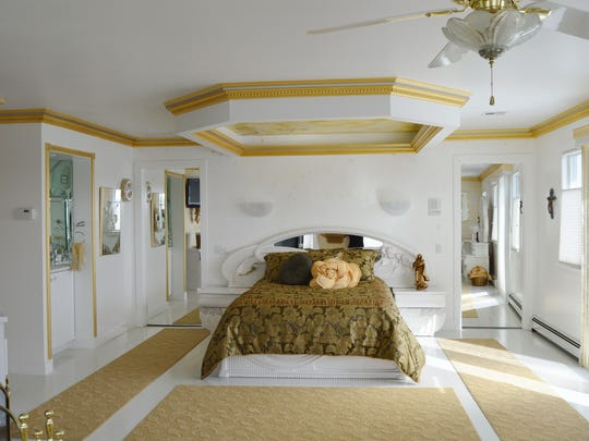 The master bedroom is very spacious.