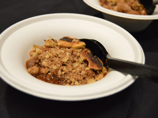 SoDel Concepts' prepared a sweet and spicy chili that had just the right hint of chocolate.