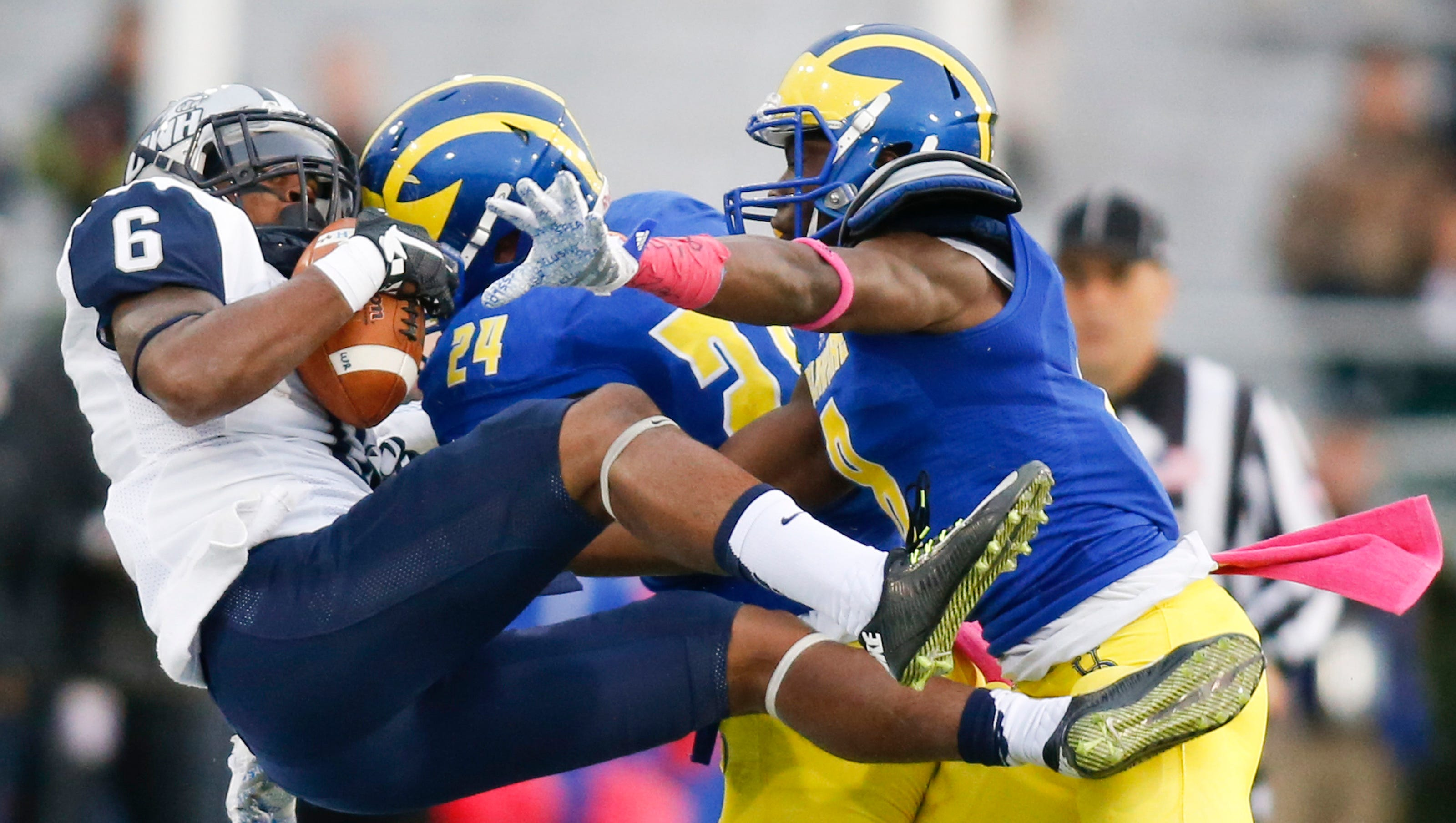 Delaware New Hampshire Football Meetings Infrequent But Memorable