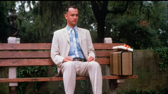 PARAMOUNT PICTURES -- Tom Hanks played lovable Forrest.