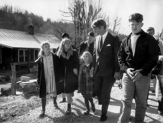 In 1968, Robert Kennedy visited Appalachia during a