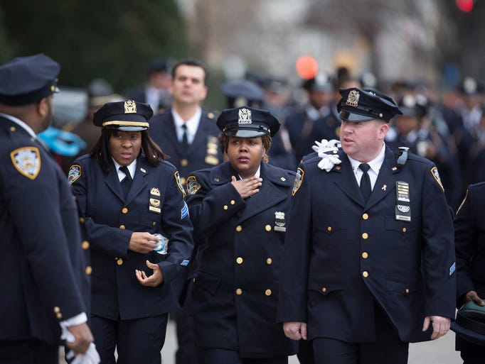 Services For Slain Nypd Officer Wenjian Liu