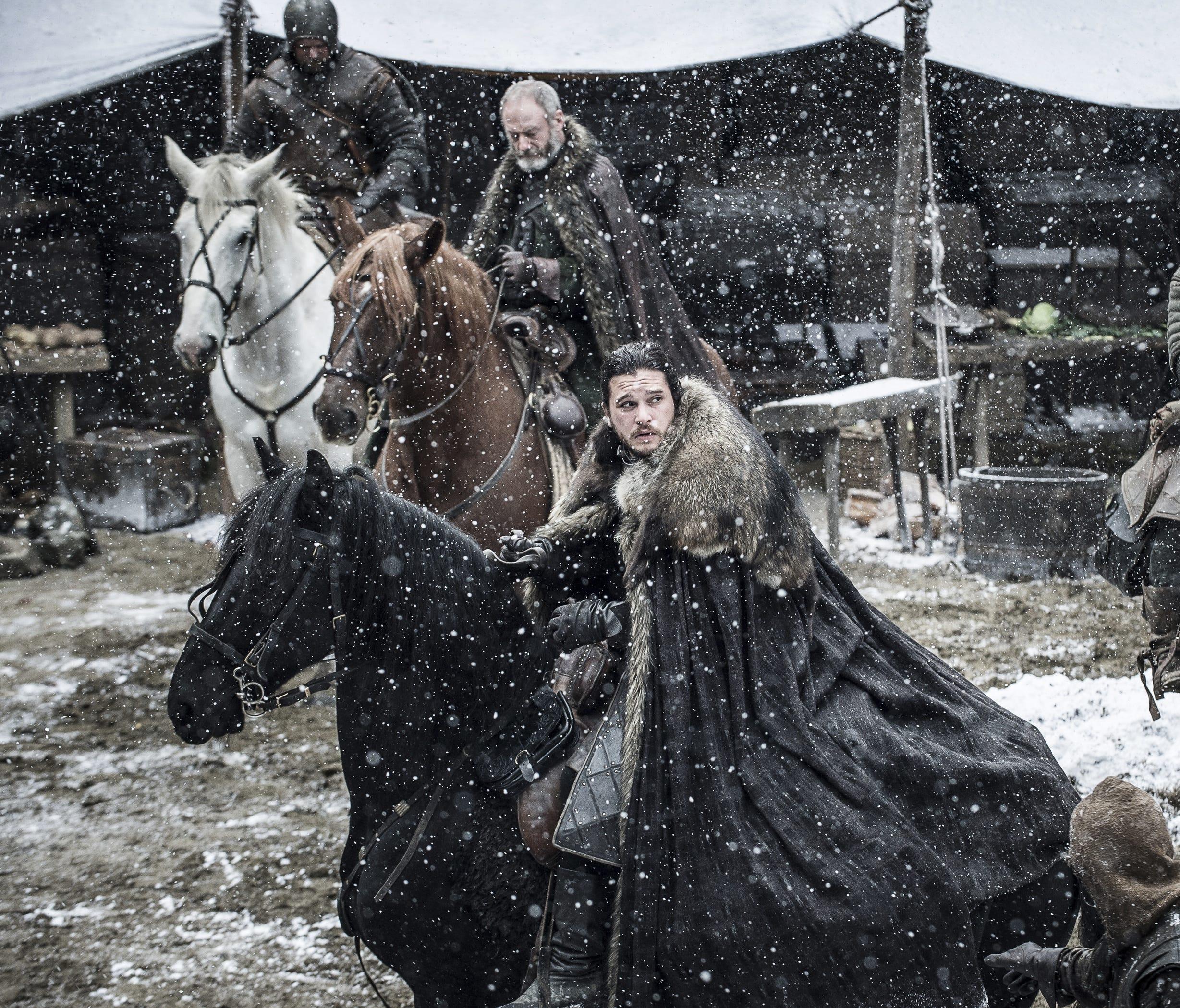 Jon and Davos