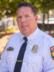 Riverside County Fire Chief Shawn Newman oversees 97 fire stations in the county, including Station 23 in Pine Cove.