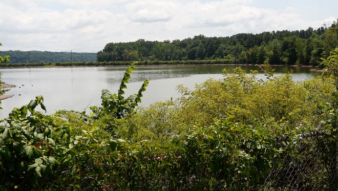 A view of Lake Deforest in West Nyack from Ridge Road on Friday, July 29, 2016.