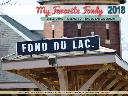 My Favorite Fondy 2018 wall calendar