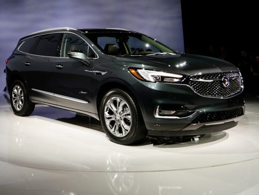 The 2018 Buick Enclave Avenir is unveiled ahead of
