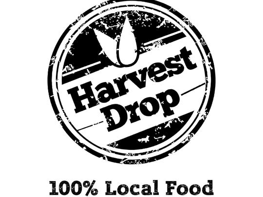 The Harvest Drop logo.
