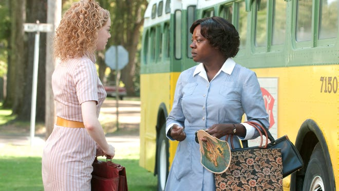 Emma Stone and Viola Davis in 'The Help.'