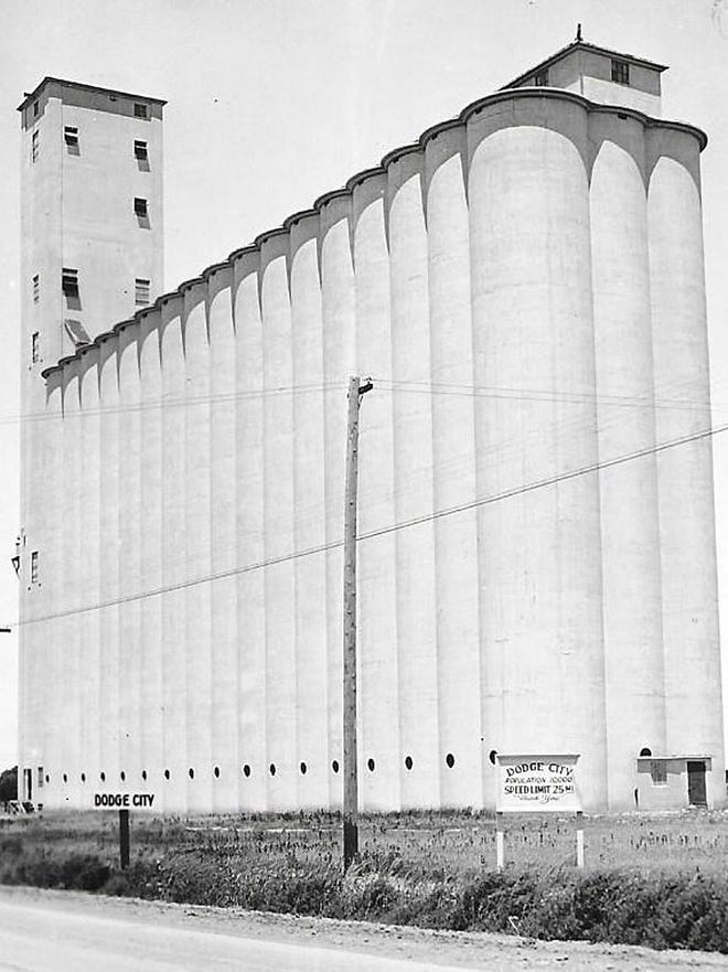 dodge city ks grain The grain elevators of Kansas