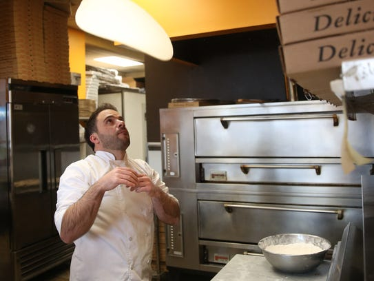 Co-owner of Pizza Express in LaGrangeville, Anthony