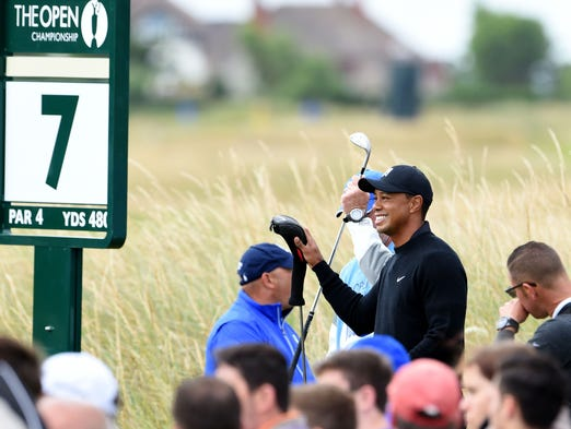 tiger woods talks about british open  health and legacy