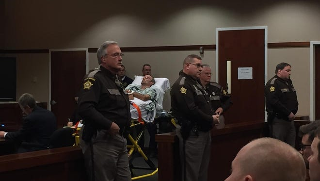 Daniel Greis, 57, of Independence appears in Kenton County Court Wednesday.