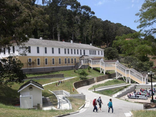 The Angel Island Immigration Station museum in San Francisco in 2009.