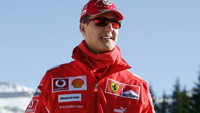 Former F1 world champion Michael Schumacher, 44, suffered a head injury in a skiing accident in the French Alps.