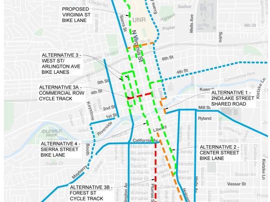 RTC bike path plan.