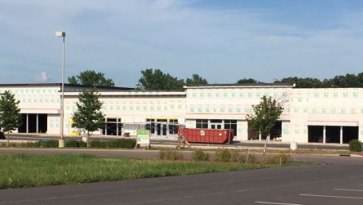 AT&T is one of several retailers moving into this new strip mall at Dawley Farm.