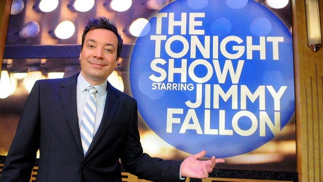 Jimmy Fallon host of The Tonight Show.