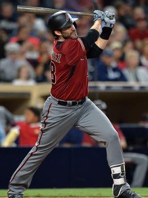 J.D. Martinez hit a career-high 45 home runs in 2017.