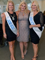 Brittany Huff, Shay Stepp and Jewelia's Miss September and hostess Gail Flesche at the Little Black Dress cocktail party to benefit the VIM/HANDS Clinic of St. Lucie County.