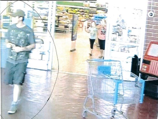 Police are looking for suspects who have redeemed fake