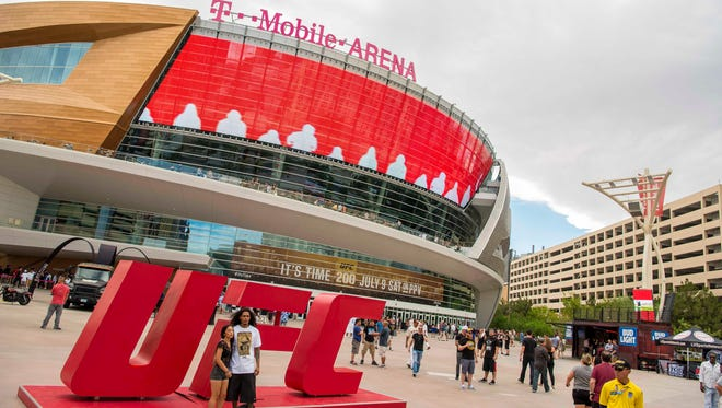 Almost fight time for UFC 200 at T-Mobile Arena in Las Vegas.