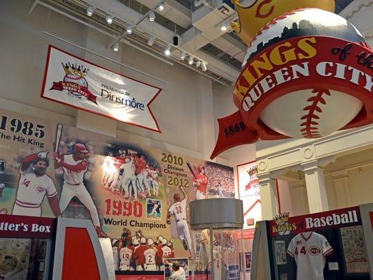 Cincinnati Reds Hall of Fame and Museum.