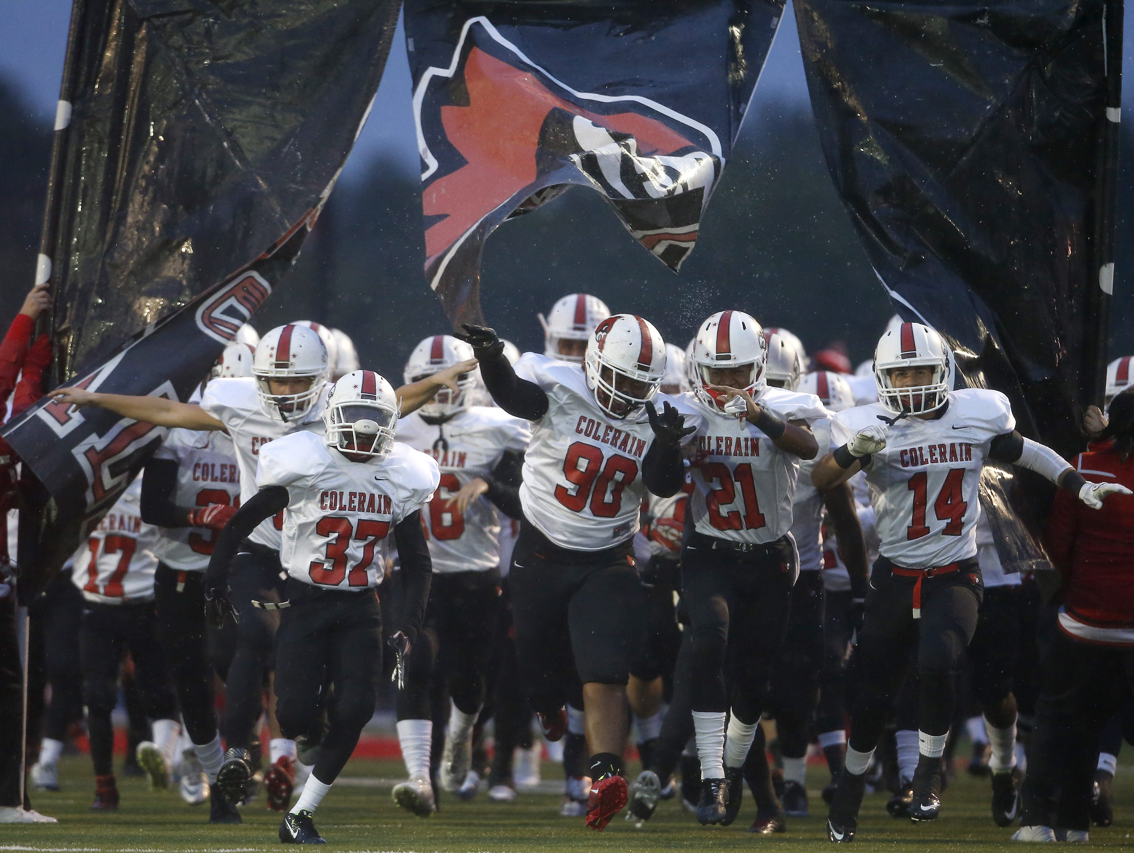 Colerain's football team is ranked third in Division I in the latest AP poll.