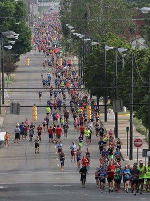 Participants of the Shawshank Hustle ran seven kilometers around town last year. The race returns June 17.