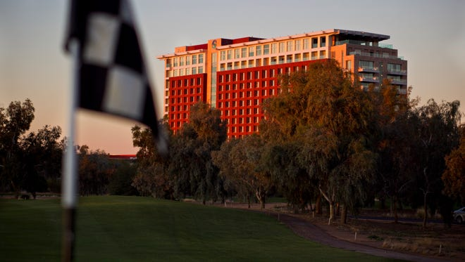 Talking Stick Resortand Casino will remain closed until Aug. 19 after a monsoon storm caused a major power outage,forcingplayers, guestsand employees to evacuate early Saturday morning.