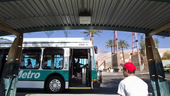 Tempe is proposing cuts to Valley Metro Express and regular bus routes as well as cutting frequency of the Orbit circulator shuttle. If the proposed cuts are approved, Route 108 would end at Elliot Road and Priest Drive, eliminating service through the town of Guadalupe and Arizona Mills.