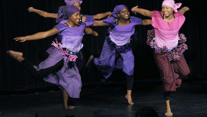 The Epiphany Dance Collective performed at the Madame Walker Theatre as part of its 2011 Martin Luther King, Jr. Day celebration.