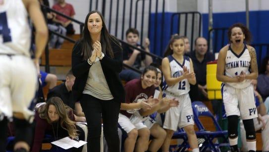 Putnam Valley coach Kristi Dini will make her first