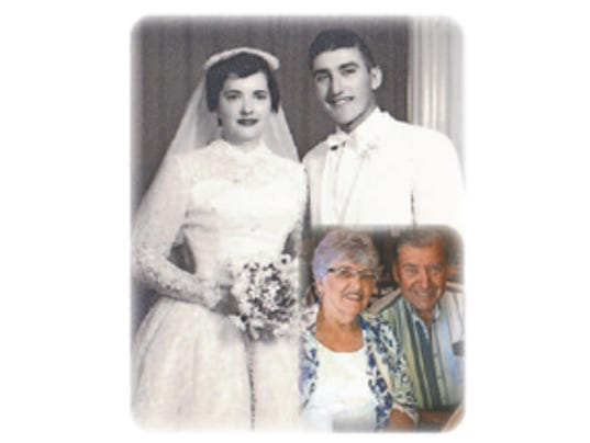 60th Wedding Anniversary October 8, 1955 / Lee and Theresa Soares
