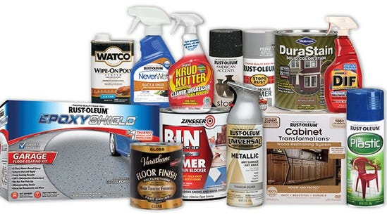 Rust-Oleum is among the numerous brands owned by RPM International Inc. in Medina