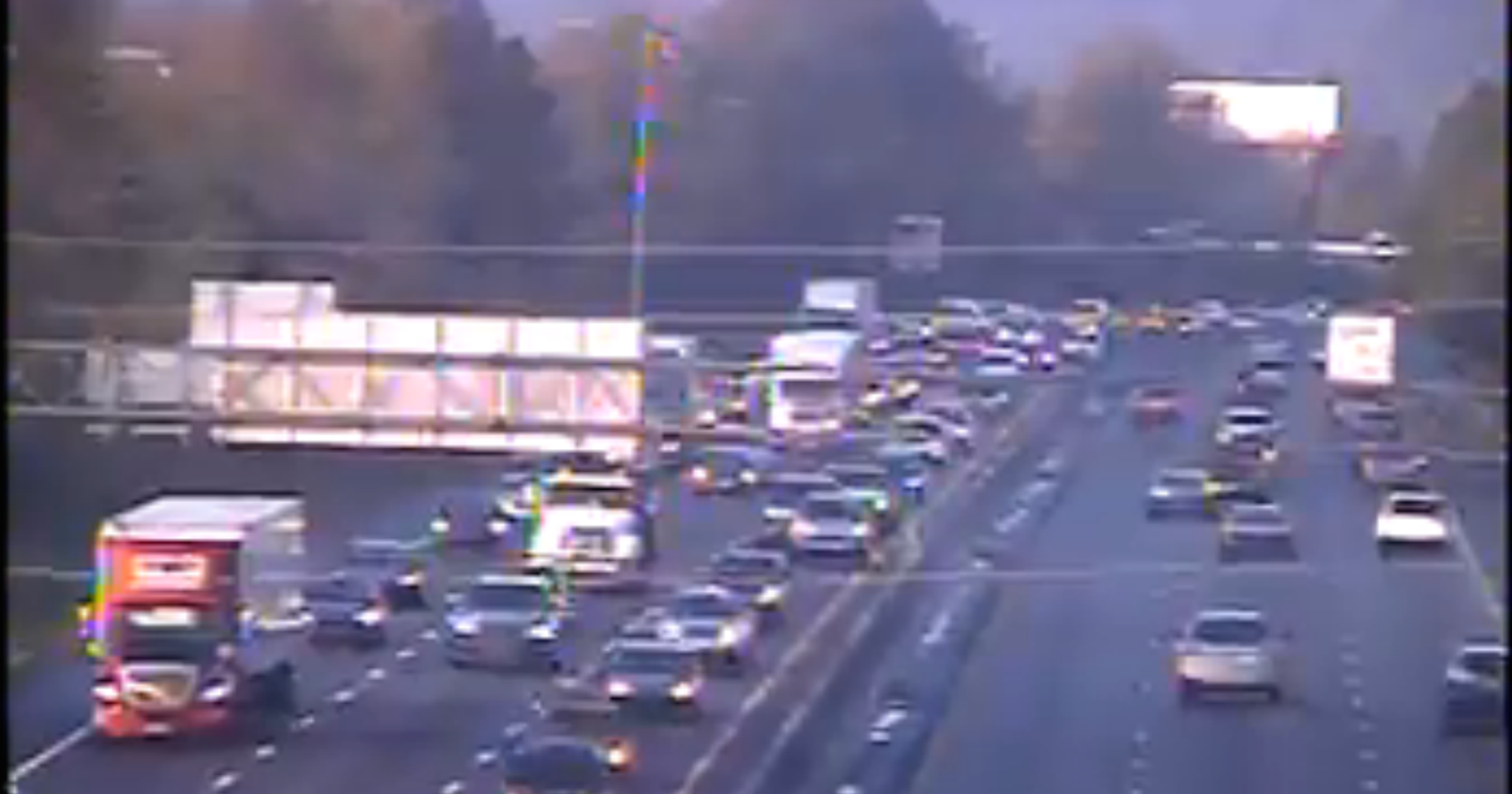 Multiple accidents reported on I-85, delays on I-385