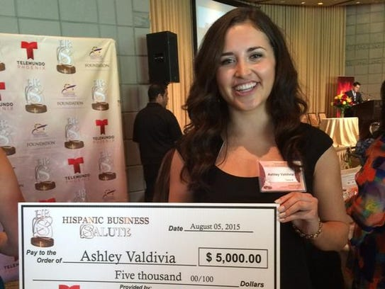 Ashley Valdivia, estudiante de negocios de ASU.
