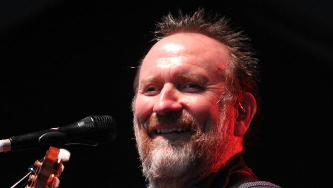 Colin Hay performs as part of the Last Summer on Earth tour at the Mercer County Park Festival Grounds on July 2.