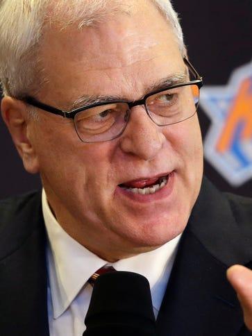 Phil Jackson said the New York Knicks not winning was