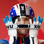 What does Summer Britcher need to do in order to medal in luge?