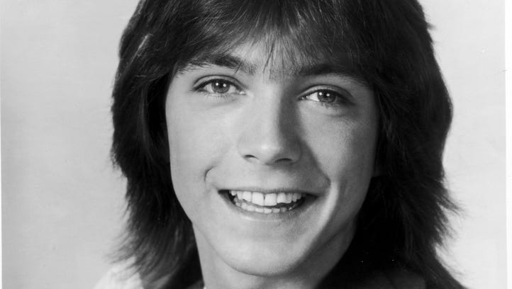 Musical recording artist David Cassidy from 'The Partridge