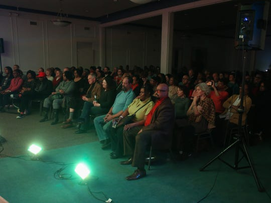 Jazz fans gathered at the Carr Center in the old Bohemian Club in downtown Detroit to enjoy a performance by Regina Carter.