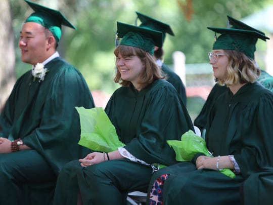 Rockland Country Day School in Congers holds their graduation ceremony on Friday, June 15, 2018.