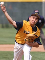 Hartland's John Baker threw a complete game as the