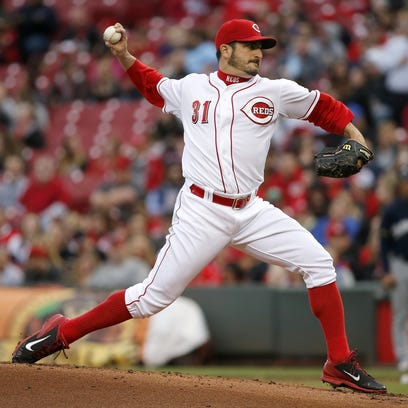 Brewers at Reds, April 27