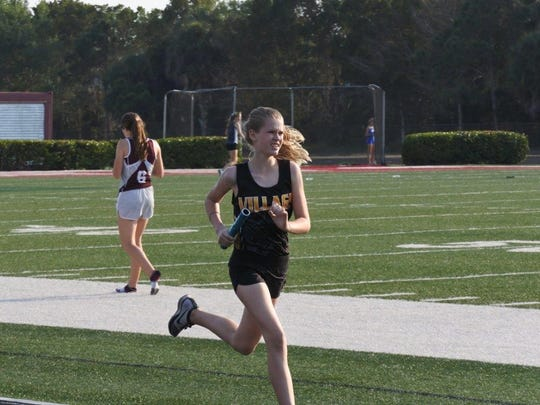 In the spring of 2017, the Village School of Naples offered a track program that was comprised mostly of middle school students but competed in a few varsity meets.