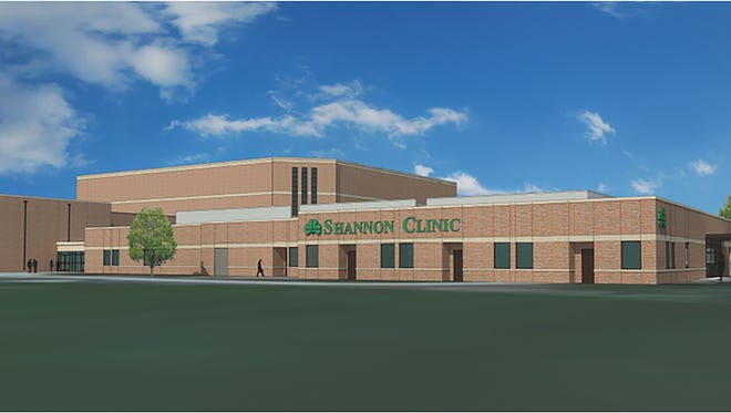 Artist rendering of a planned on-campus sports medicine clinic at Angelo State University.
