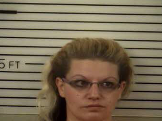 Tiffany Ann Mills, 29, of Clyde, allegedly stole a truck to make a court date in Marshall Sept. 25.