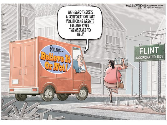 Flint water crisis anniversary